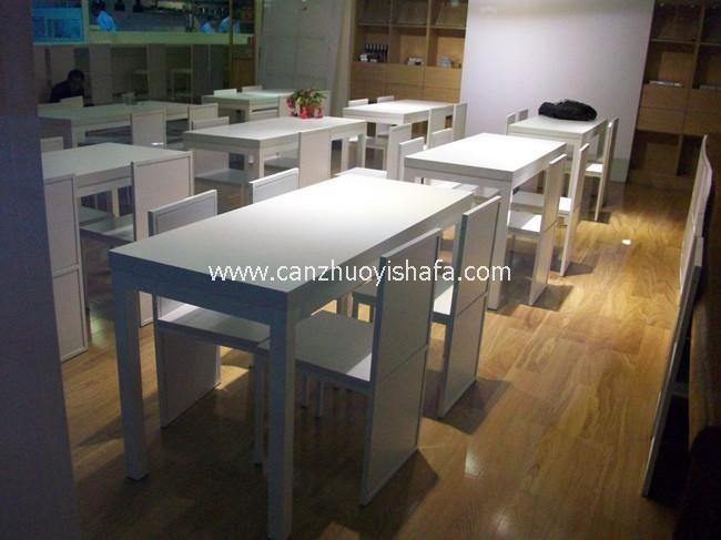 快餐桌椅-T02105