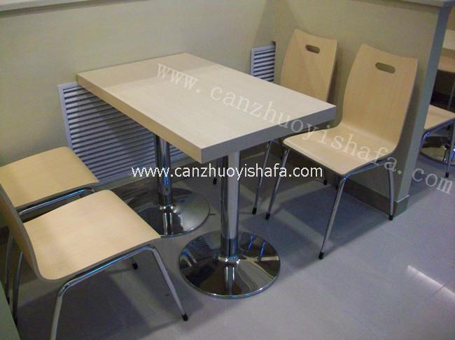 快餐桌椅-T02107