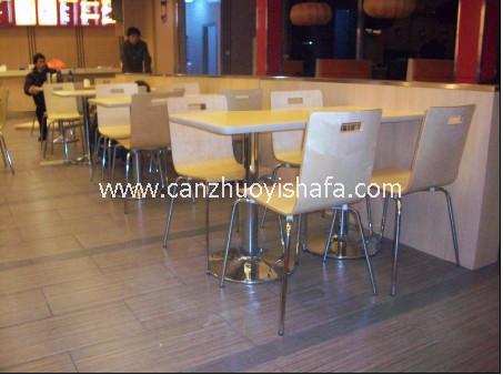 快餐桌椅-T02108