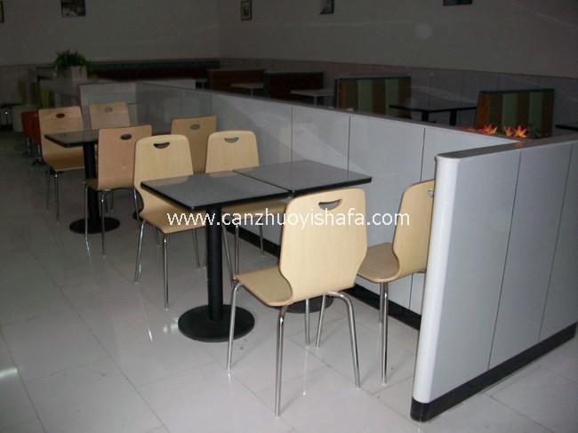 快餐桌椅-T02111