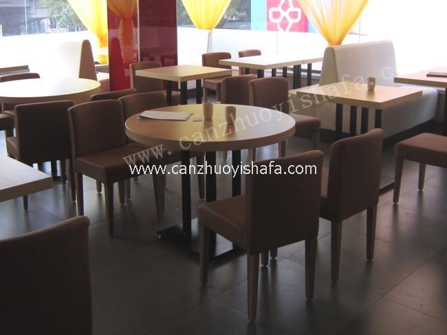 快餐桌椅-T02114