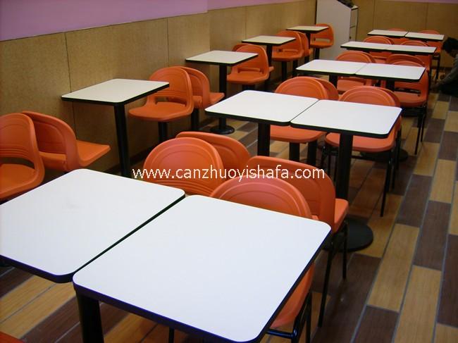 快餐桌椅-T02119
