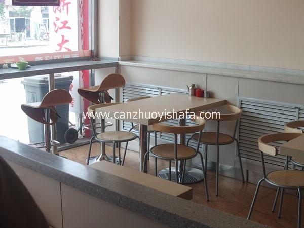 快餐桌椅-T02120