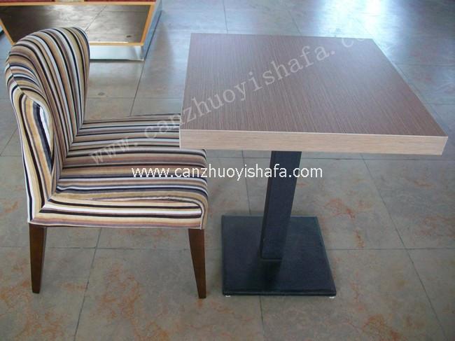 北京快餐桌椅-T02122