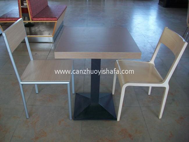 分体快餐桌椅-T02124