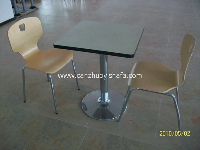 分体快餐桌椅-T02125