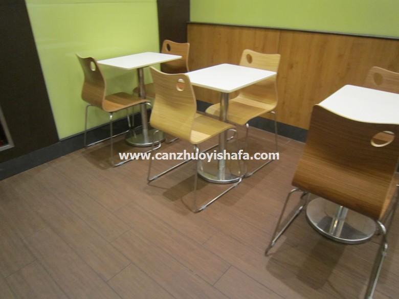 北京快餐桌椅-T02130