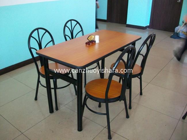 分体快餐桌椅-T02132