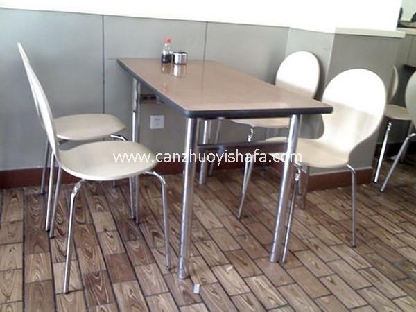 北京快餐桌椅-T02133