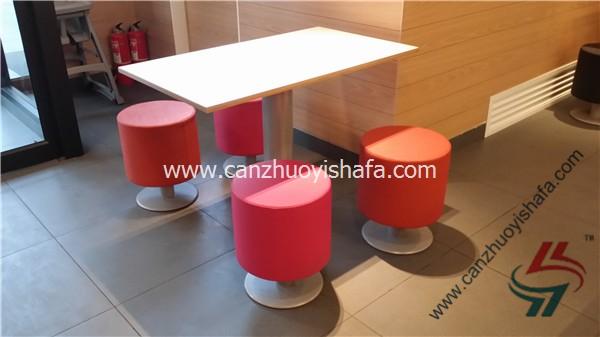 分体快餐桌椅-T02138