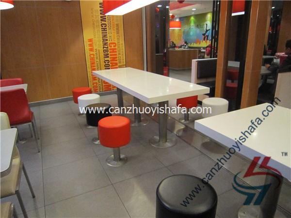 分体快餐桌椅-T02139
