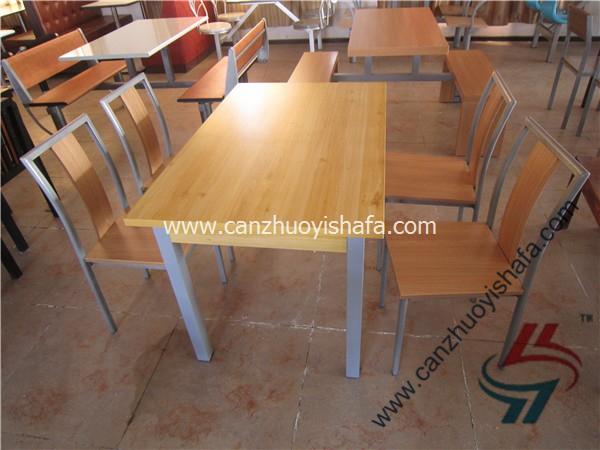 分体快餐桌椅-T02150