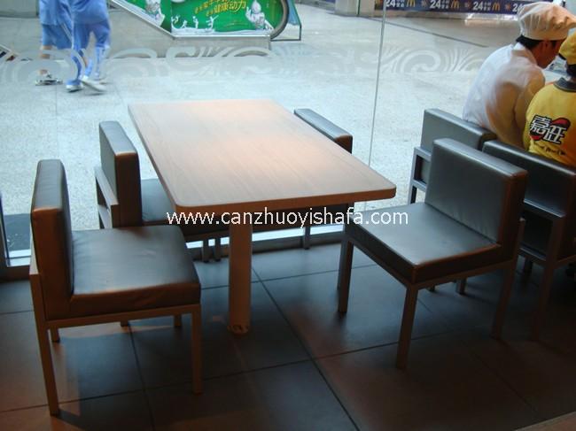 快餐桌椅-T02202