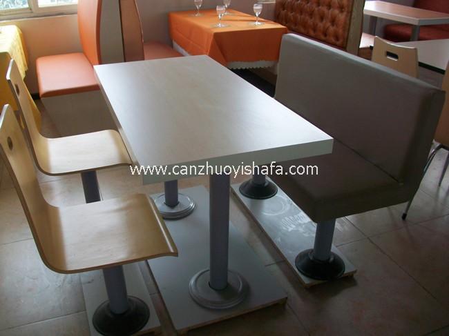 北京快餐桌椅-T02205