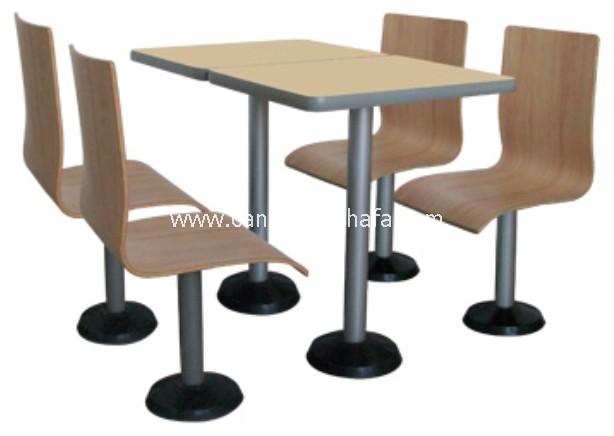 分体快餐桌椅-T02208