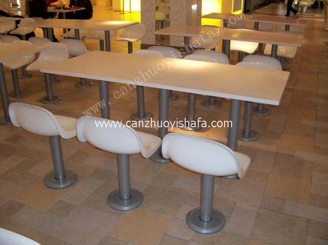 快餐桌椅-T02217