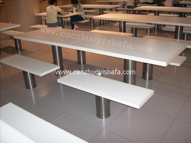 快餐桌椅-T02222