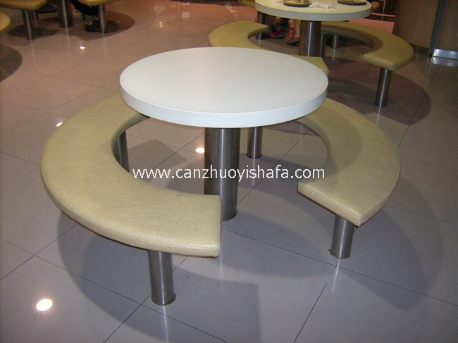 快餐桌椅-T02223