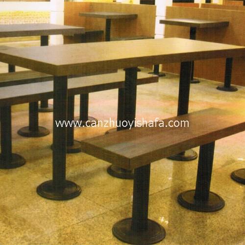 快餐桌椅-T02224