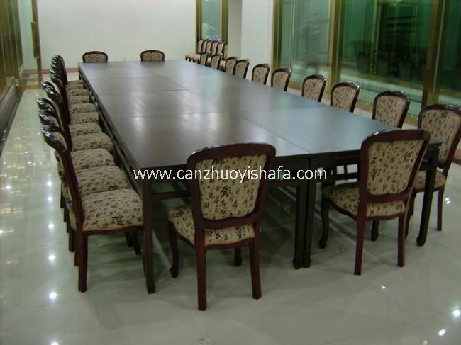 实木餐桌椅-T0601