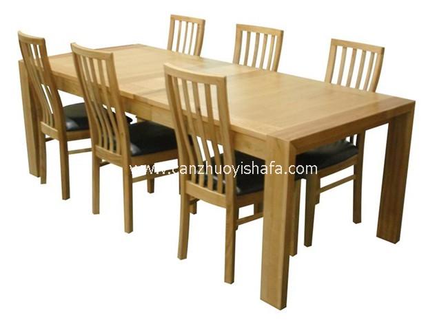 实木餐桌椅-T0609