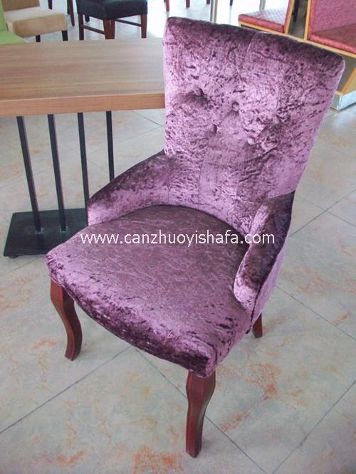 软包餐椅-Y1104