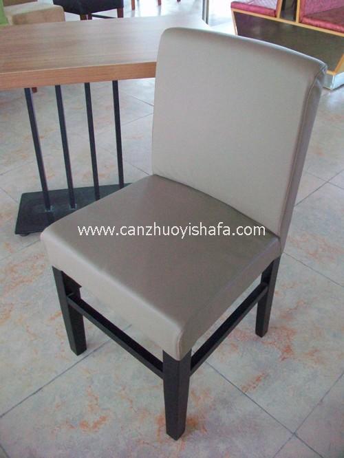实木软包餐椅-Y1106