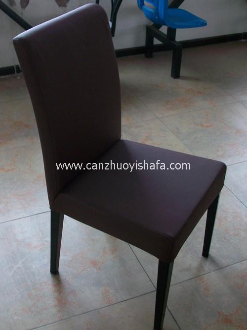 实木软包餐椅-Y1115