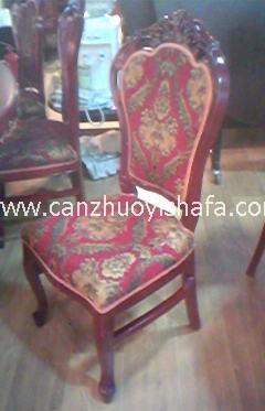 实木软包餐椅-Y1125