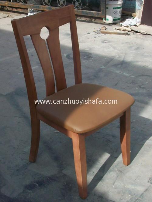 实木软包餐椅-Y1128