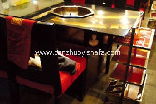 火锅城餐桌椅-T0703