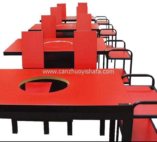 火锅城餐桌椅-T0704