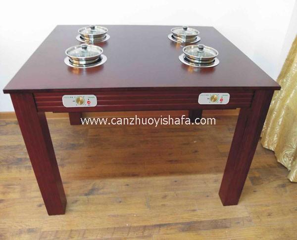 火锅城餐桌椅-T0705