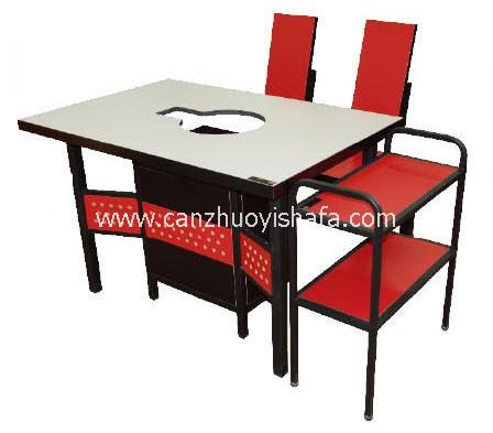 火锅城餐桌椅-T0710