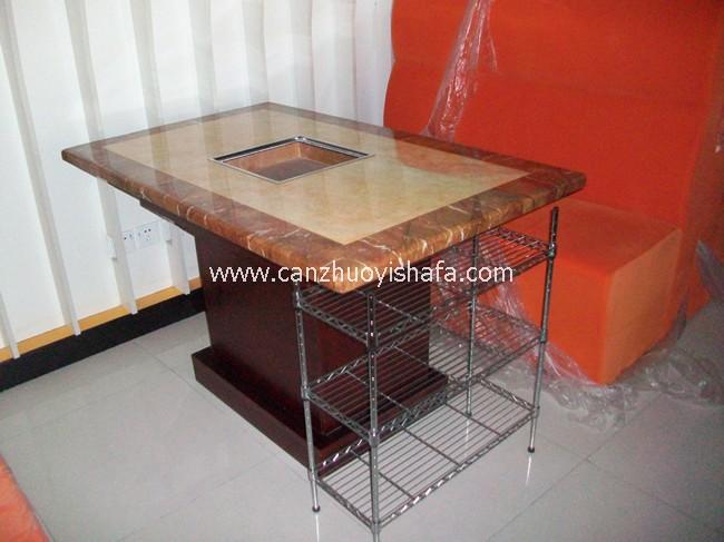 火锅城餐桌椅-T0711