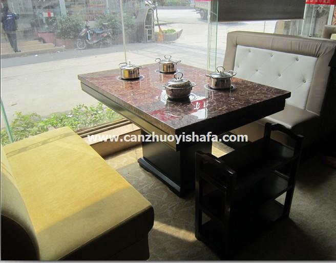 火锅桌椅-T0715