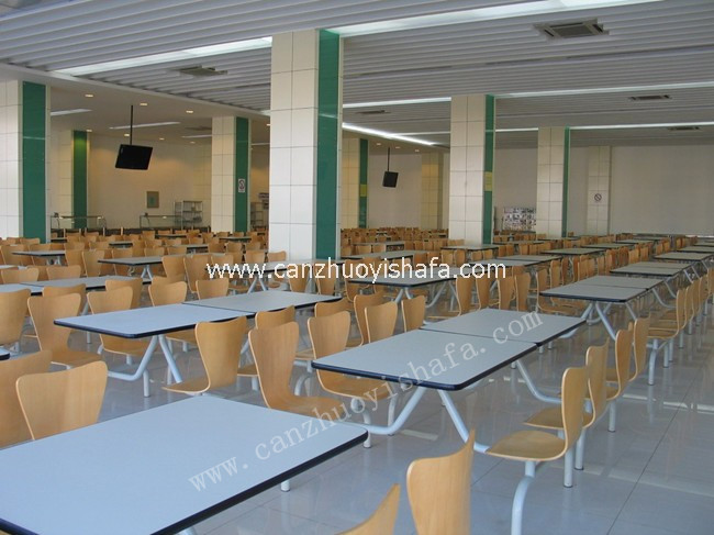 快餐桌椅-T0304