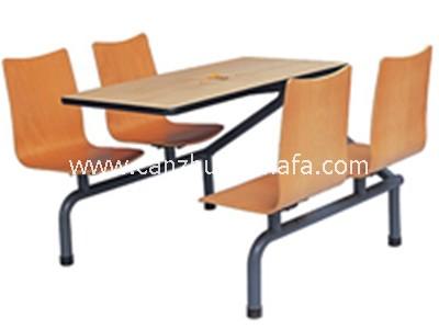 快餐桌椅-T0312