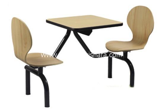 快餐桌椅-T0319