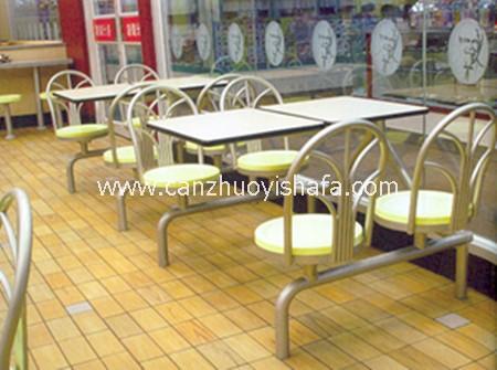 快餐桌椅-T0323
