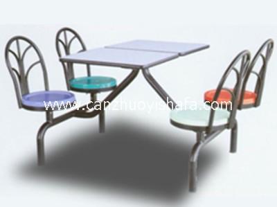 快餐桌椅-T0332