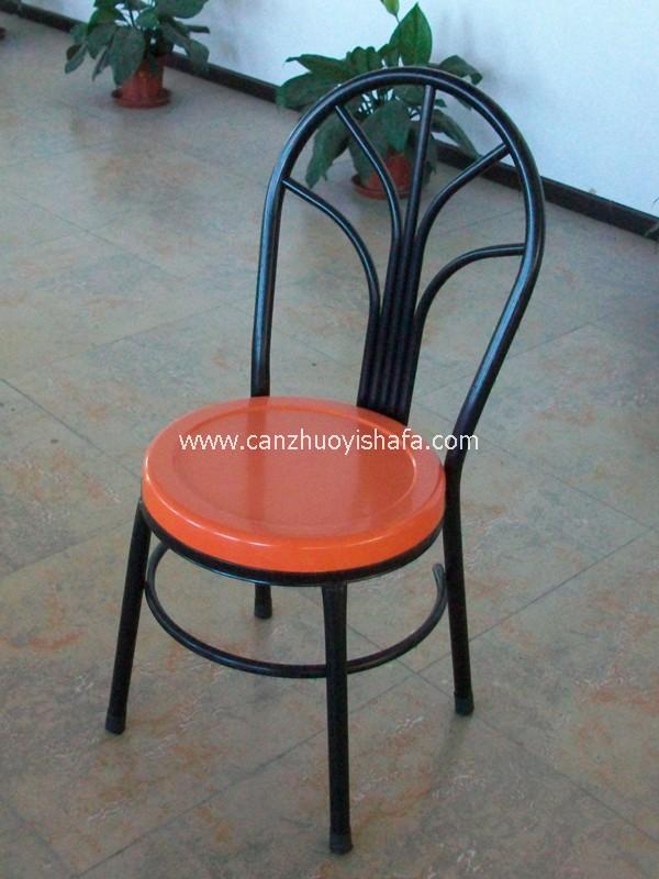 钢木餐椅-Y1213