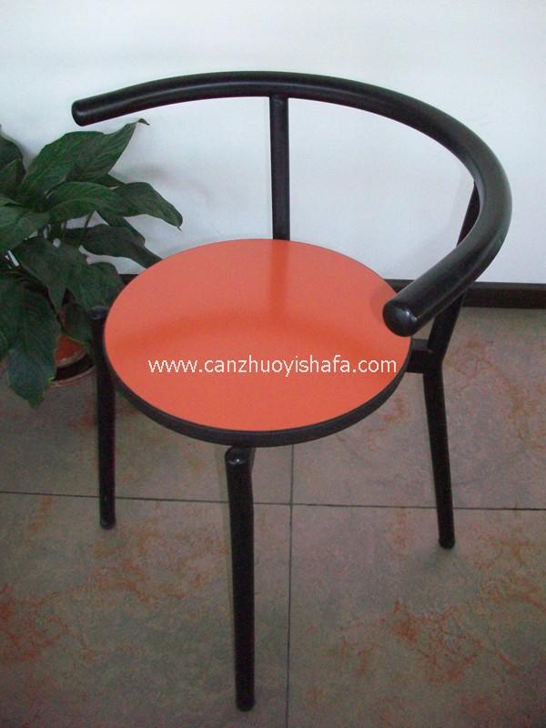 钢木餐椅-Y1216