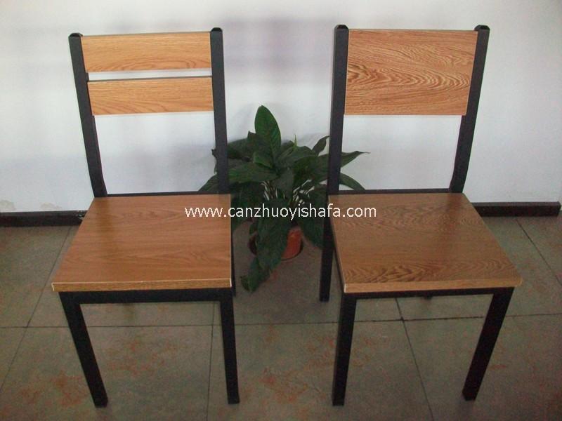 钢木餐椅-Y1218