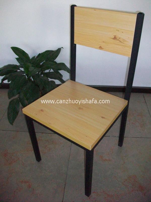 钢木餐椅-Y1221