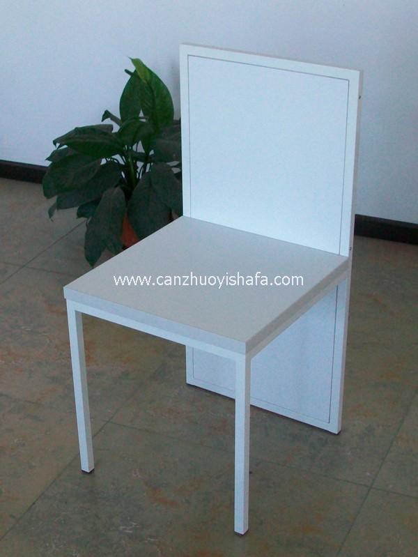 钢木餐椅-Y1224