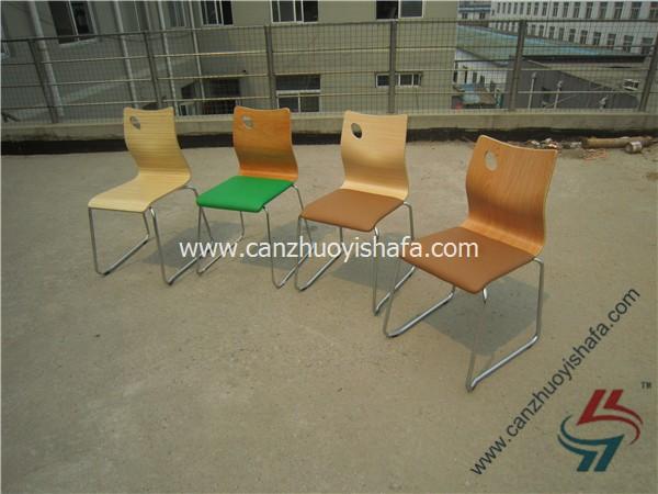 钢木餐椅-YXL202