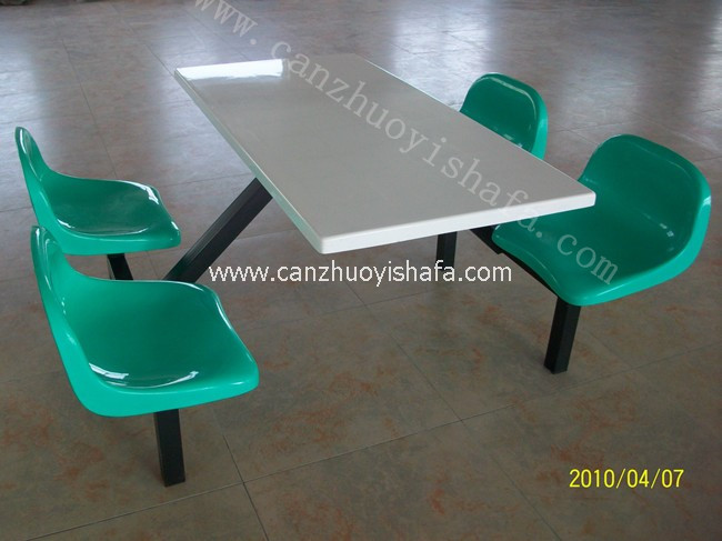 食堂餐桌椅-T0506