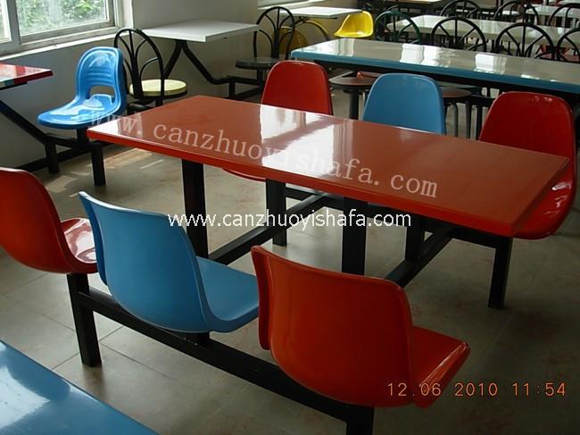 食堂餐桌椅-T0512