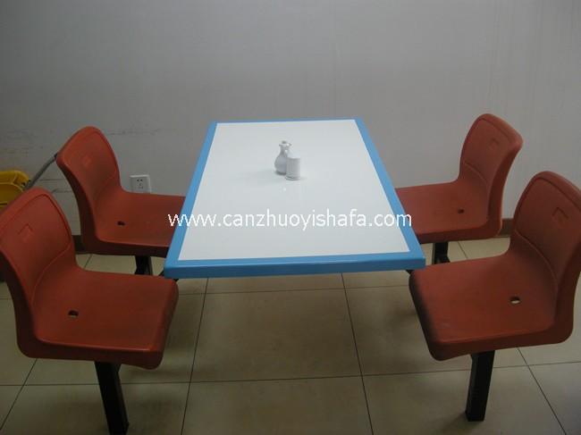 食堂餐桌椅-T0517